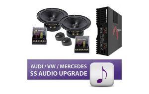 Gladen audi vw mercedes SS audio upgrade