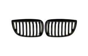 BMW 1-serie E87 grill nieren mat zwart 04-07