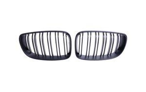 BMW 1-serie E87 M look grill nieren hoogglans zwart 07-11