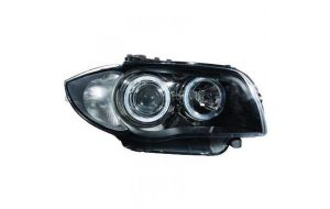 BMW 1-serie E81 E87 xenon headlights set in black 04-11
