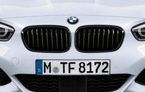 BMW 1-serie F20 F21 M-Performance grill glanzend zwart origineel 2015>