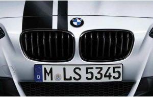 BMW 1-serie F20 F21 M-Performance grill glanzend zwart origineel 2011-2015