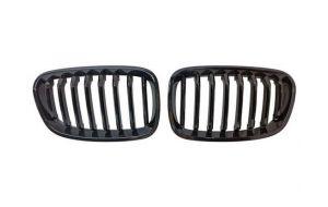 BMW 1-serie F20 F21 grill nieren hoogglans zwart 11-15
