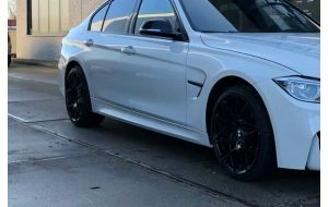 BMW 3 serie F30 M3 F80 look sideskirts - Pro Car Tuning