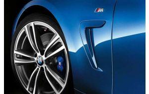 BMW M logo embleem zijschermen origineel