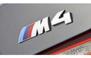 BMW M4 logo embleem achterklep origineel