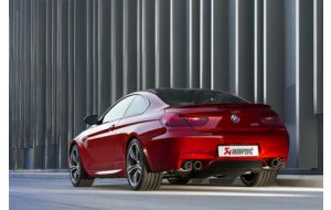 Akrapovic uitlaat BMW M6 F12 F13 Evolution system
