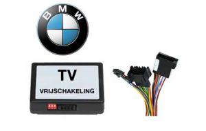 BMW TV DVD vrijschakeling met inbouw
