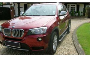 BMW X3 F25 Side steps