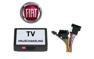 Fiat TV DVD vrijschakeling met inbouw