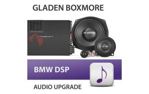 Gladen Boxmore BMW DSP audio upgrade incl. inbouw