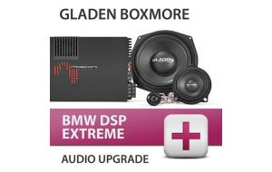 Gladen Boxmore BMW DSP Extreme audio upgrade incl. inbouw