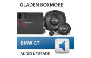 Gladen Boxmore BMW GT audio upgrade incl. inbouw
