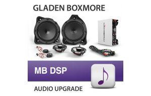 Gladen Boxmore DSP audio upgrade voor Mercedes