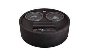 Gladen RS 8 RB Dual 20cm active subwoofer 400w spare wheel