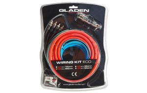 Gladen WK 20 ECO amplifier cable kit