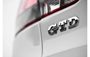 VW Golf 5 V 6 VI GTD logo embleem origineel