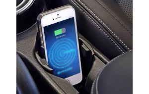 Universele QI draadloze auto telefoon oplader in bekerhouder - Inbay