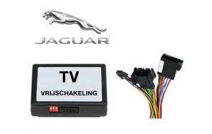 Jaguar TV DVD vrijschakeling met inbouw