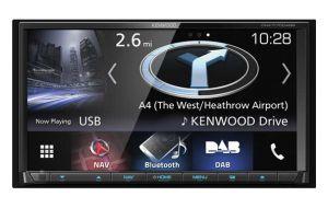 Kenwood DNX7170DABS DAB+ navigatiesysteem