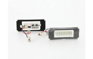 LED kentekenverlichting Mini Cooper R56 BMW X5 E53