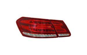 Mercedes E-klasse W212 sedan Facelift LED achterlichten red crystal 09-13