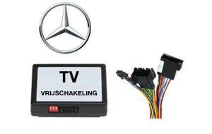 Mercedes TV DVD vrijschakeling met inbouw