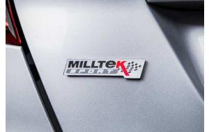 Milltek Sport logo embleem badge origineel