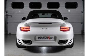 Milltek Sport uitlaat Porsche 911 997.2 3.6 3.8 (C2) (C4) (S) (GTS)