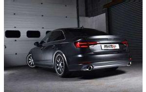 Milltek uitlaat Audi A4 B9 2.0 TFSI Quattro