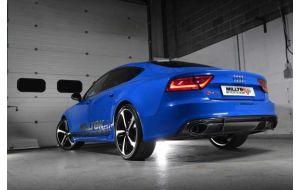 Milltek uitlaat Audi RS7 C7