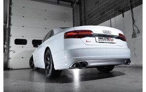 Milltek Sport uitlaat Audi S8 4.0 TFSI quattro Tiptronic