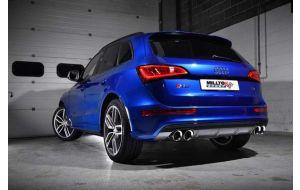 Milltek Sport uitlaat Audi SQ5 3.0 TFSI V6 Supercharged