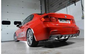 Milltek uitlaat BMW 3-serie F30 328i M-Sport