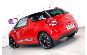 Milltek Sport uitlaat Citroen DS3 1.6 THP 16V DSport