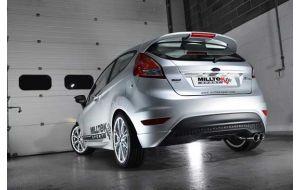 Milltek Sport uitlaat Ford Fiesta 1.0T EcoBoost 100pk 125pk 140pk