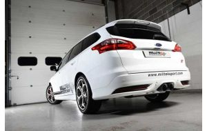 Milltek Sport uitlaat Ford Focus Mk3 ST 2.0 EcoBoost