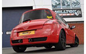 Milltek uitlaat Renault Megane Sport 225 2.0T