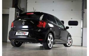 Milltek Sport uitlaat VW Polo 6R 1.4 TSI 180PK GTI
