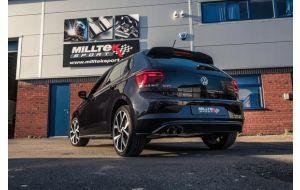Milltek Sport uitlaat VW Polo AW 2.0 TSI GTI