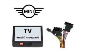 Mini TV DVD vrijschakeling met inbouw
