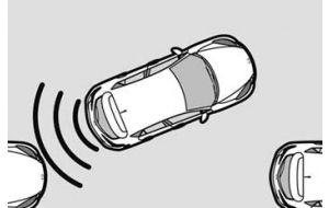 Parking sensors rear side incl. installation