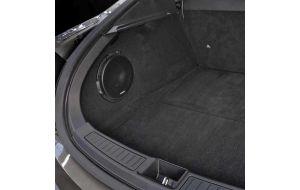 Tesla Model S pasklare subwoofer Audison