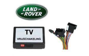 Range Rover TV DVD vrijschakeling met inbouw