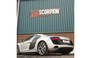 Scorpion uitlaat Audi R8 V10 2008-2012