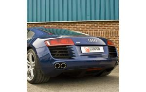 Scorpion uitlaat Audi R8 V8 2006-2012