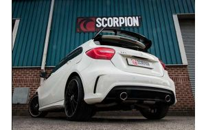 Scorpion uitlaat Mercedes A250 AMG