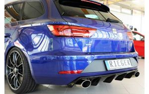 Seat Leon Cupra ST 5F diffuser - Rieger
