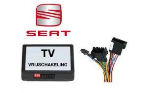 Seat TV DVD vrijschakeling met inbouw