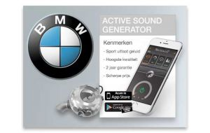 Active sound generator BMW - Diesel en Hybride
